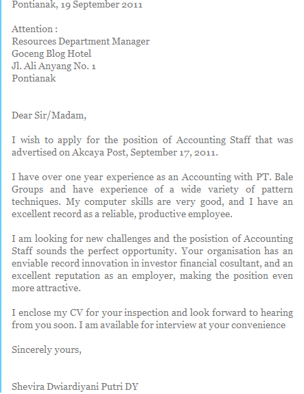 Skill up: Cover letter template for your first job