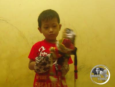 FOTO 2 : Gigin suka wayang golek