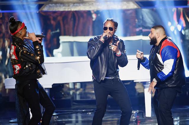 DJ Khaled, August Alsina et Future - American Music Awards 2016