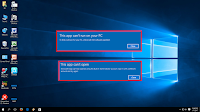 "How to Fix ""This App Can't Run on your PC"" in Windows 10/8.1 (Easy),app not open in windows 10,app opening error,This App Can't Run on your PC,this app can't be open on this pc,change user account setting,app can't installed,windows 10 apps not install,how to fix,how to solve,software not installed,software can not run install,how to install,32bit or 64bit,allow install,run apps in windows 10,add user account,run compatibility app,app not installing,fix this app can't run on your pc windows 10, this app can't open windows 8.1, this app can't run on your pc windows 8.1 fix,  this app can't run on your pc to find a version for your pc check with the software publisher,  Click here for more detail..."