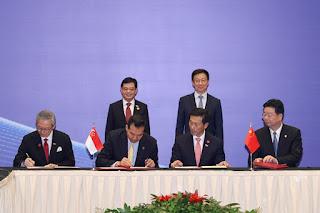 China-Singapura