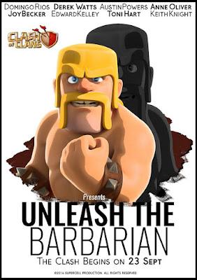 Unleash The Barbarian