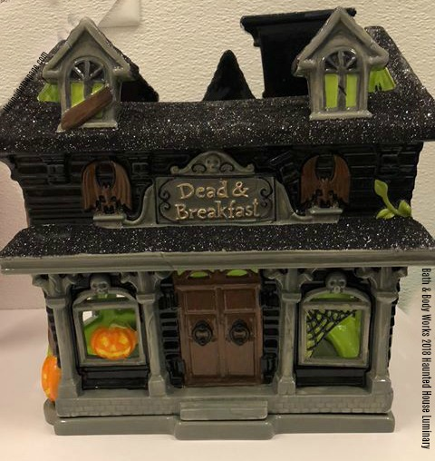 Life Inside The Page Bath Body Works Halloween Haunted House