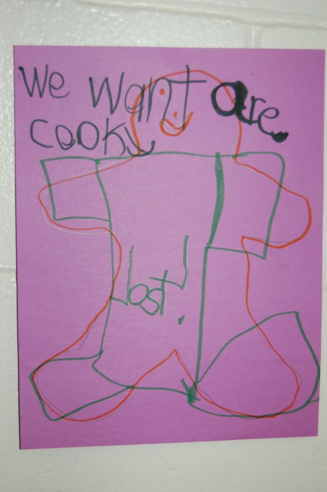 Teaching Star Students Buddy Day Gingerbread Man Hunt