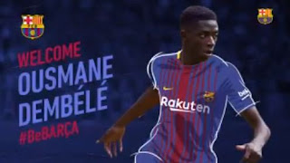 Barcelona Resmi Rekrut Ousmane Dembele