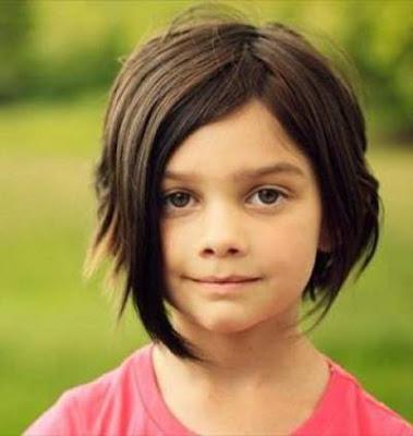 Gaya Ikat Rambut Anak