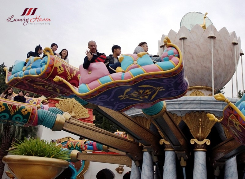 disneysea review arabian coast jasmine flying carpets