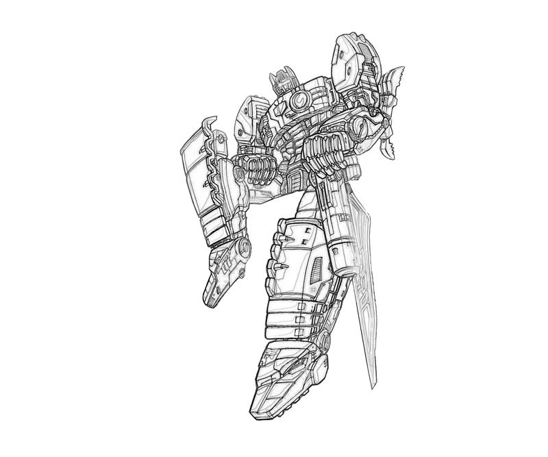 transformers cybertron coloring pages - photo#48