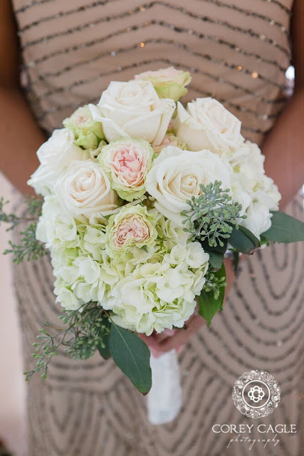 bridesmaid bouquet | Corey Cagle Photography