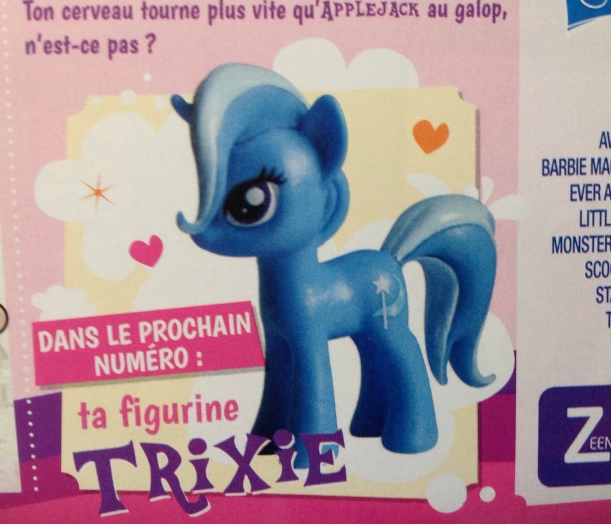 Trixie Magazine Figure