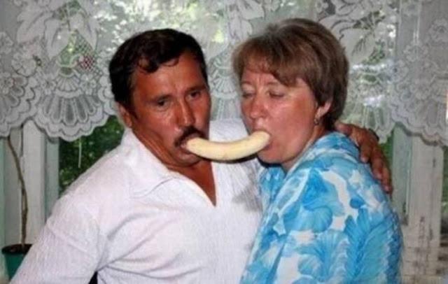 foto pasangan terunik terlucu teraneh dan ternorak di dunia-3