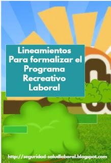 Lineamientos programa de recreación laboral