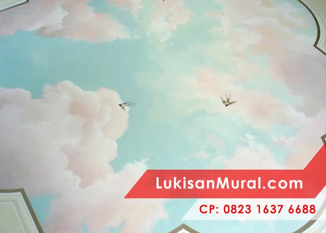 Lukisan kartun awan