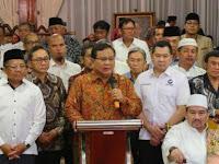 Prabowo Subianto Langsung Dukung Gugat UU Pemilu