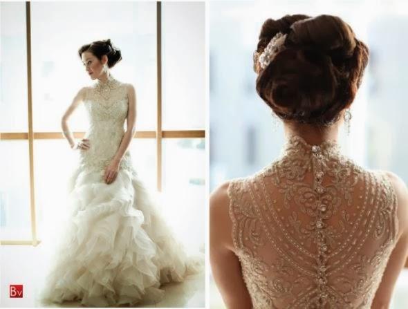 Dahlia Weddings: The Back Says It All..... Wedding Gowns
