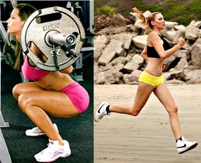 Hay cardio para adelgazar y otro tipo de cardio para aumentar los músculos de la cola y piernas