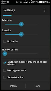 Auto start mode if only single app selected