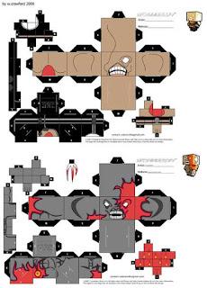 Cubeecraft Resident Evil - Nemesis y Tyrant