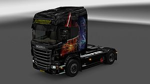 Star Wars paint job for Scania R
