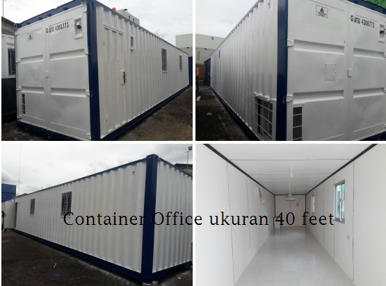 Container Office Banyak Di Asian Games