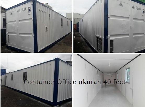 Container Office Banyak Di Asian Games