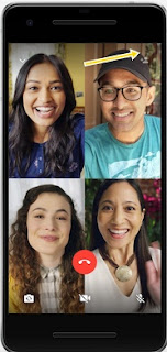 cara video call grup 4 orang di WhatsApp
