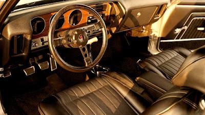 1970 Pontiac LeMans GTO Ram Air IV 400 Interior Cabin