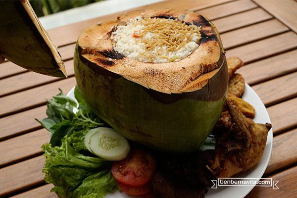 nasi liwet kelapa
