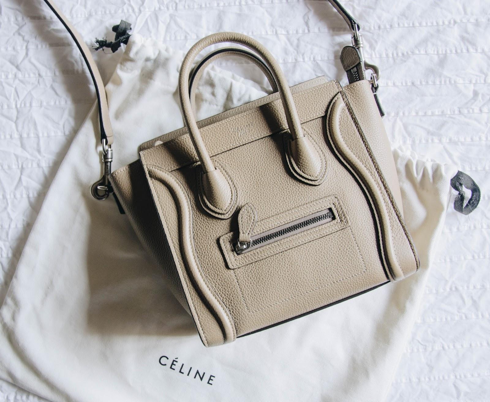 Céline Nano Luggage Tote Review 7c52eac1f7d94