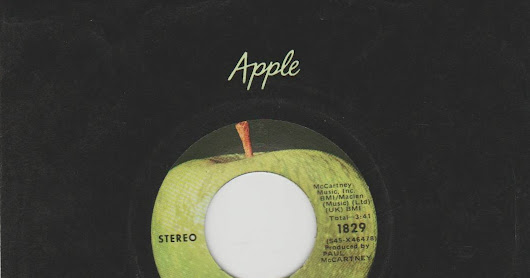 """ANOTHER DAY / OH WOMAN, OH WHY"" (1971) - Paul McCartney Apple R5889 (R.U.) Apple 1829 (EE.UU.)"