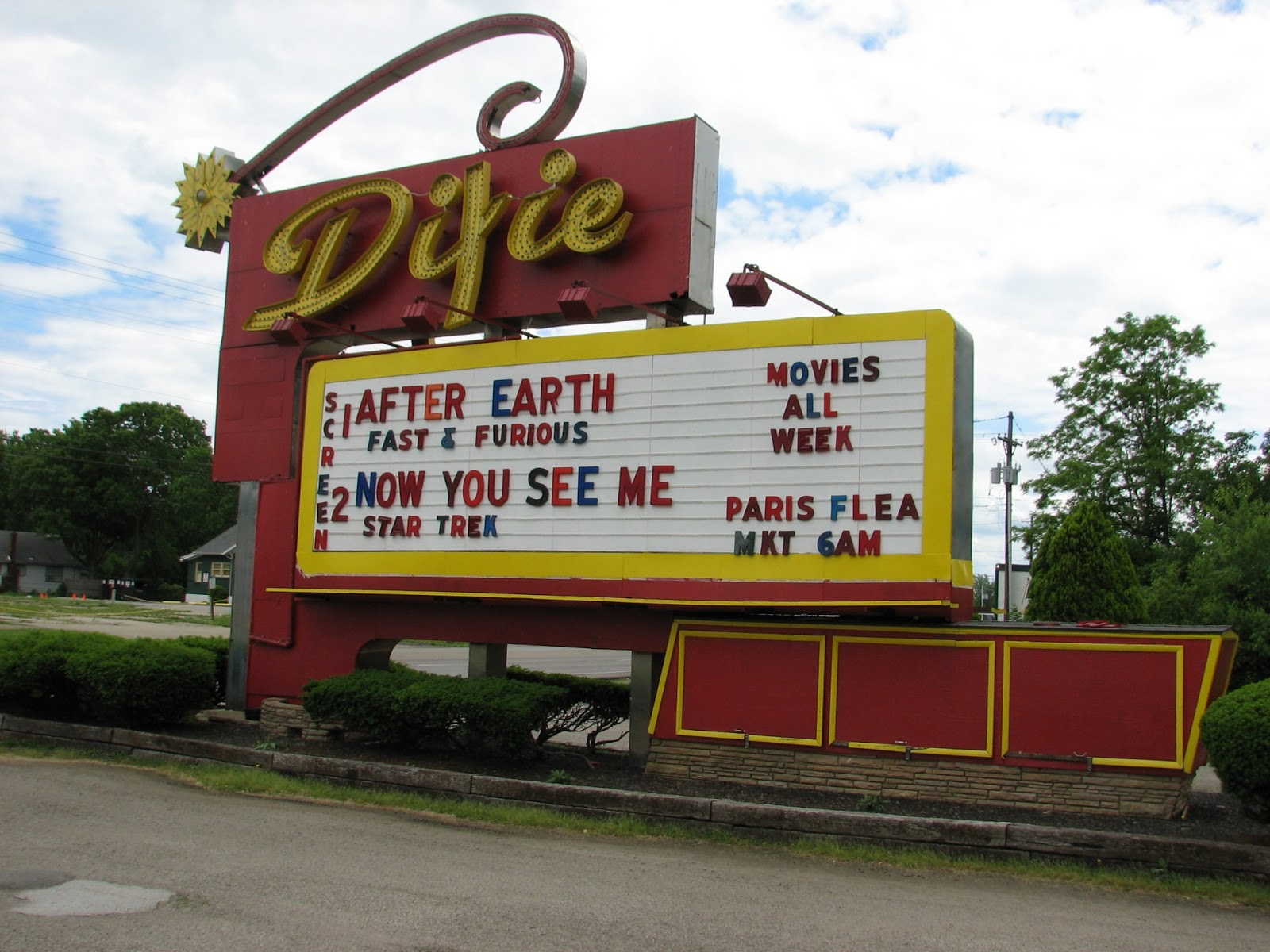 The Last Drive In Dayton Oh Area Dixie Twin Located Harrison Township