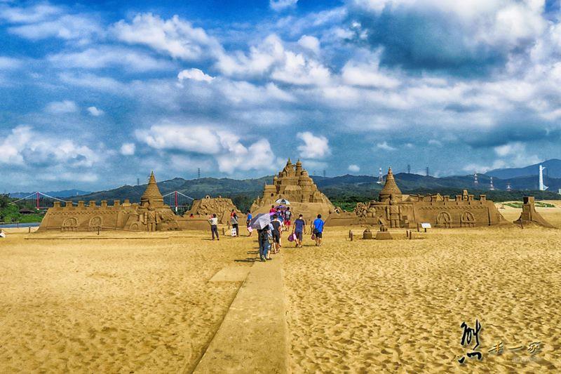 新北貢寮福隆海水浴場|福隆國際沙雕藝術季~完整沙雕作品展