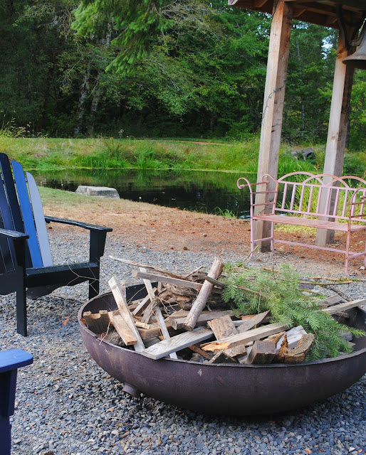 Oregon-weddng-venue- Vernonia-Springs- Vernonia- fire pit