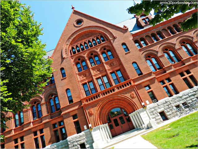 Williams Hall en la Universidad de Vermont, Burlington