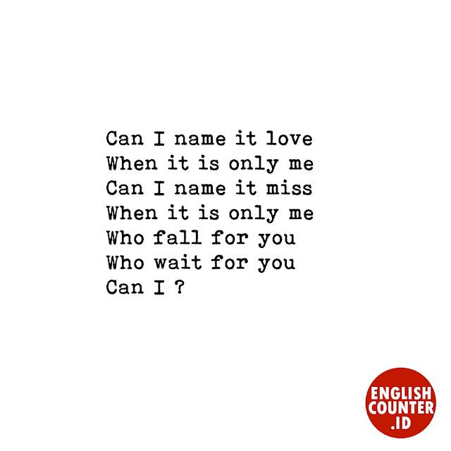 puisi bahasa Inggris tentang cinta