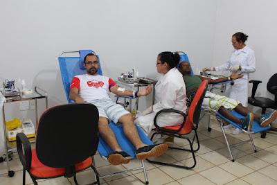 Mais de 200 doadores de sangue participam de campanha em Guajará