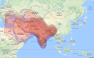 Satelit Asiasat 5 100.5°E KUBand