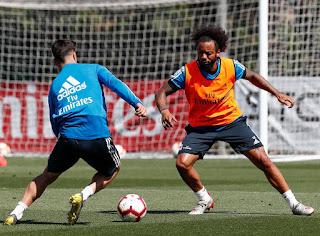 El equipo trabajo por ultima vez en la Ciudad Real Madrid