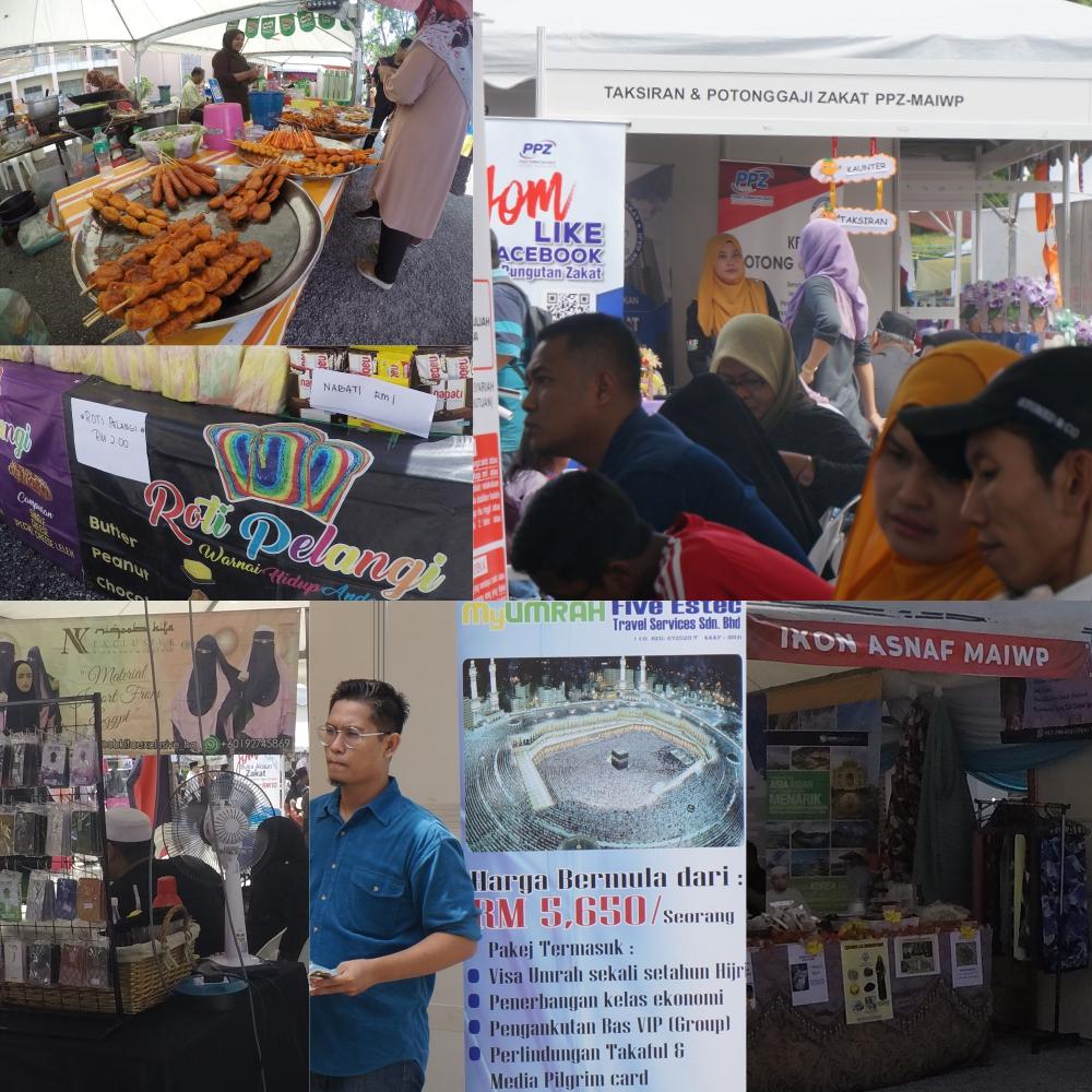 PPZ MAIWP, Pusat Pungutan Zakat, Rawlins GLAM, Karnival YEZ, Karnival Year End Zakat, Bayar Zakat,