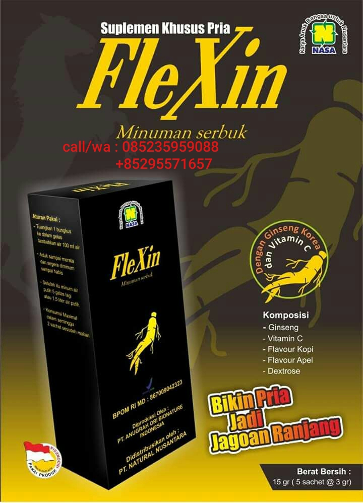 flexin nasa suplemen pria sejati
