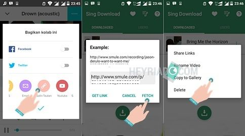 Cara Upload Video Smule ke Instagram di Android