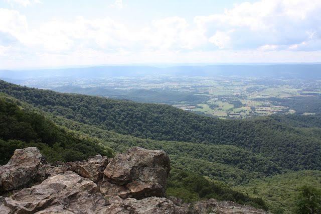 Many overlooks in Shenandoah National Park yield to incredible views.