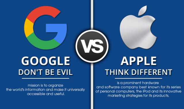 Google vs Apple: Who Rules in 2017?