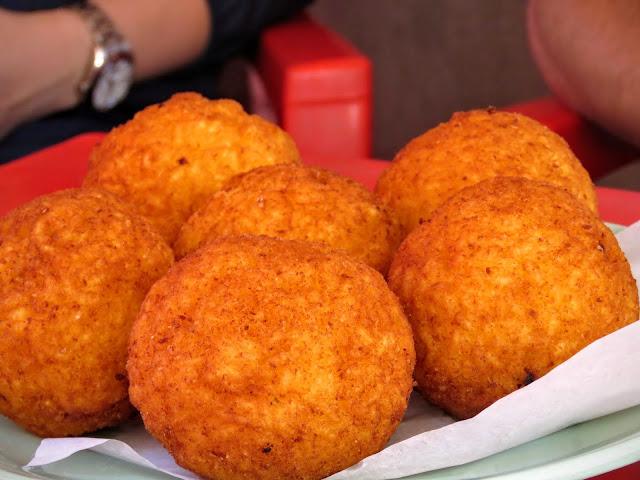 Streat Palermo Tour Sicily - arancine