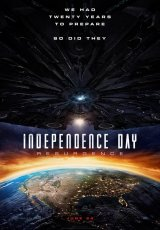 "Carátula del DVD: ""Independence Day: Contraataque"""