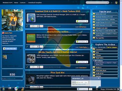 Template Blogger Windows 8 SM