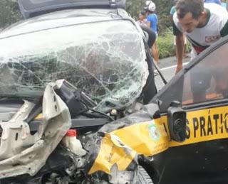 EM FRECHEIRINHA-CE: ACIDENTE DEIXA DOIS MORTOS E FERIDOS NA BR-222