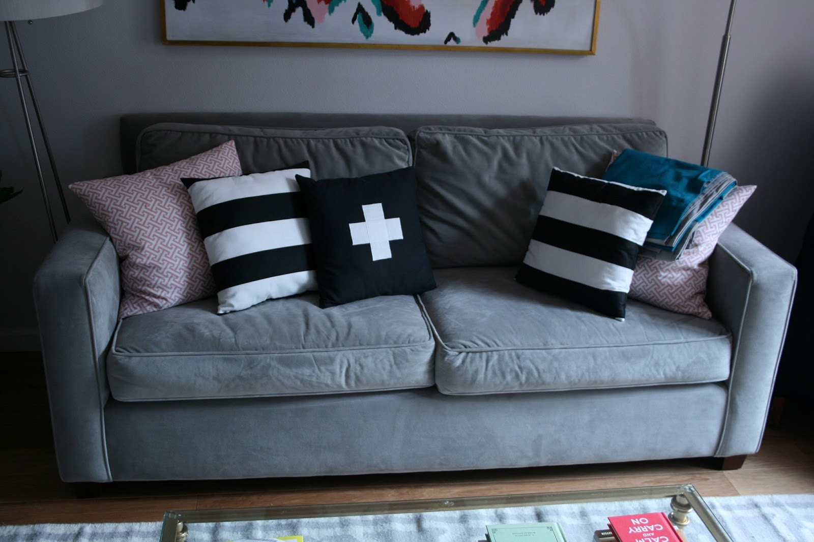 hang around chair cover outdoor swing little living room makeover and much needed pillow update