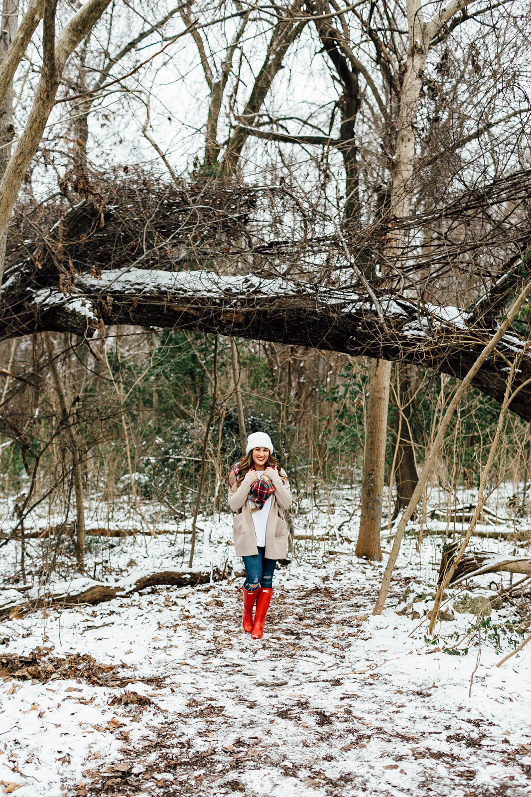 Ways to survive the winter: take a walk outside