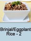 Brinjal/Eggplant Rice